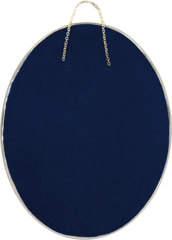 Blu Ferrari /& Arrighetti Cuore votivo Argento cm 9,5 x 7,5