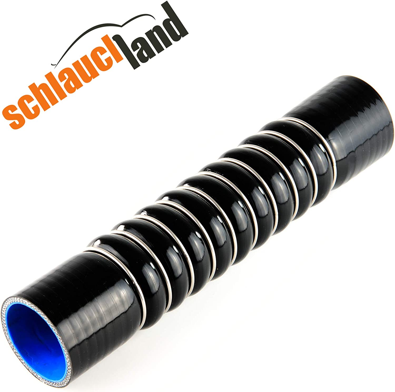 ULTRAFLEX Silikonschlauch ID 57mm schwarz*** Ansaugschlauch 0-45/° Winkel