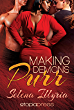 Making Demons Purr (Paranormal Romance Menage) (Flushed and Fevered Book 2)
