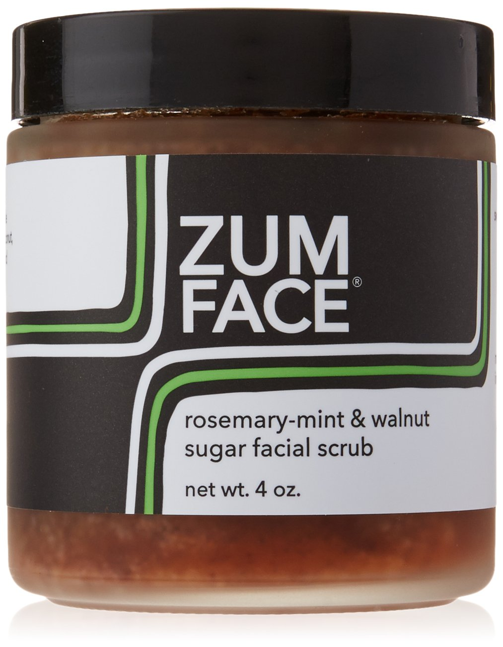 Indigo Wild Zum Face Walnut Face Scrub, 4 Ounce