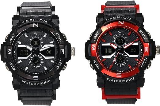 Reloj de pulsera para hombre con cronógrafo, multifunción, deportivo, de cuarzo, para hombres