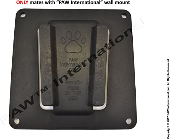 Paw internacional RV TV bracket- único TV MOUNT- negro: Amazon.es ...