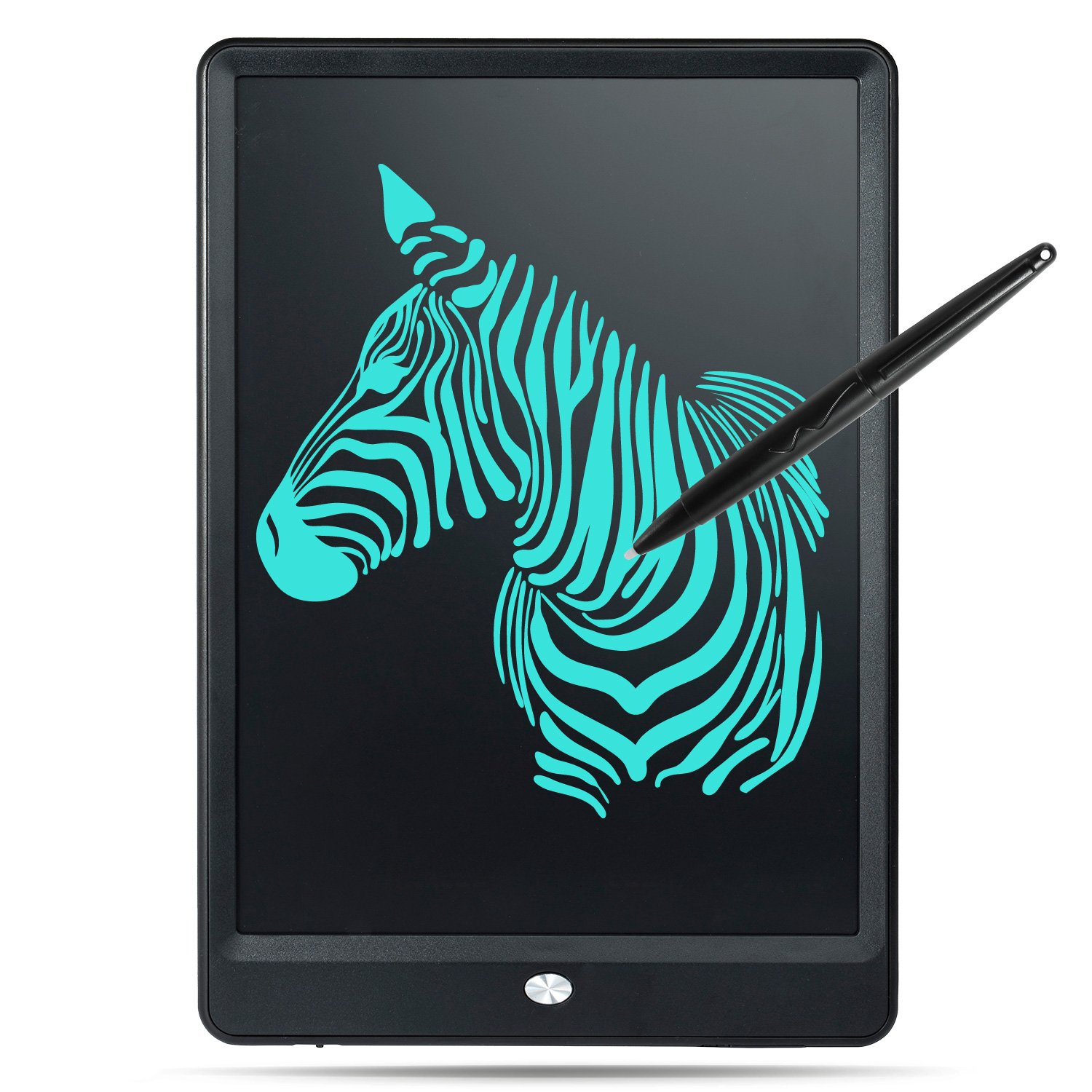 10 Inch LCD Writing Tablet,Digital Drawing Tablet with Case and Stylus for Kids,Office and Family(Black)