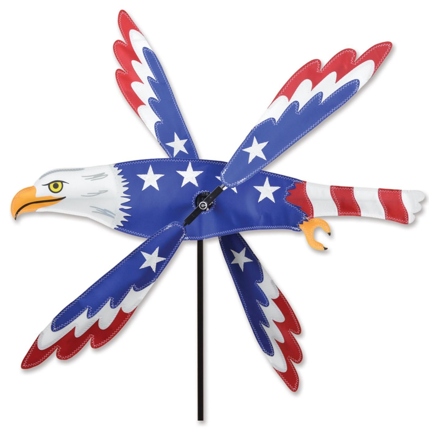 Whirligig Spinner - 25 In. Patriotic Eagle Spinner by Premier Kites