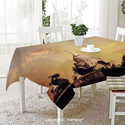 Super Amazon Com Beemeng Spring And Easter Dinner Tablecloth Home Remodeling Inspirations Genioncuboardxyz