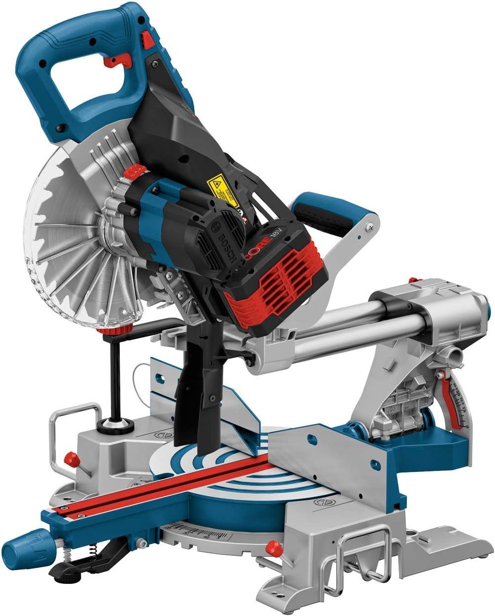 Bosch Professional 18V System Akku Paneels/äge GCM 18V-216 S/ägeblatt-/Ø: 216 mm, ohne Akku und Ladeger/ät, im Karton