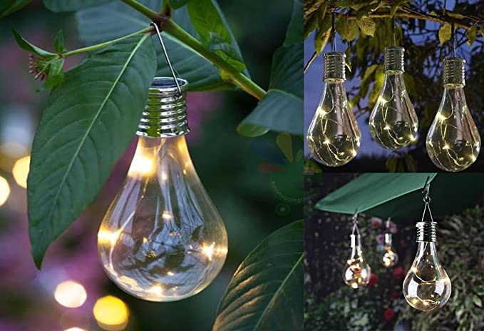 Lampade lampadine led ad energia solare da esterno luce calda h