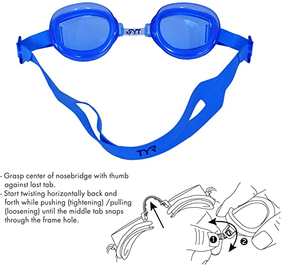 TYR Racetech Swimming Goggles