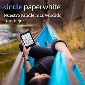 """Kindle Paperwhite - 7.ª generación (modelo anterior), pantalla de 6"""", luz de lectura integrada, wifi (negro) - incluye ofertas especiales"""