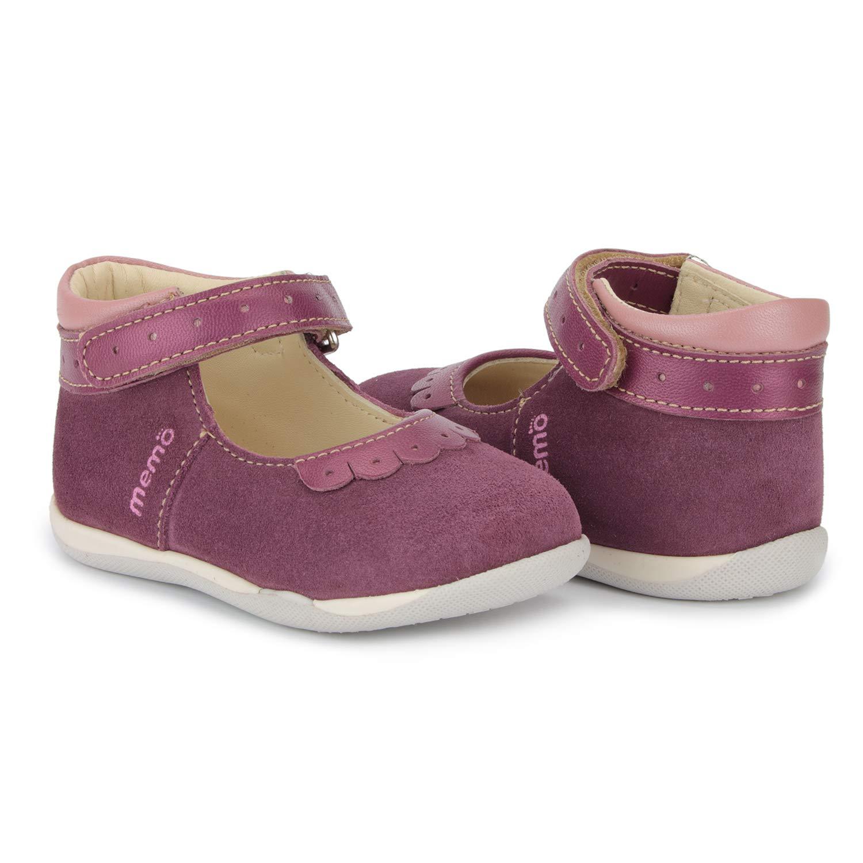 Memo Fiona Baby First Walker Orthopedic Leather Anti-Slip Mary Jane