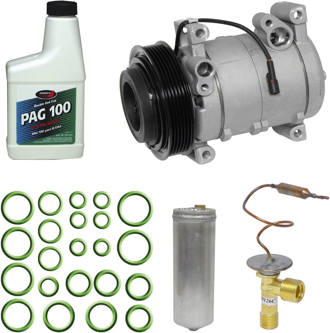 Universal Air Conditioner KT 1005 A//C Compressor and Component Kit