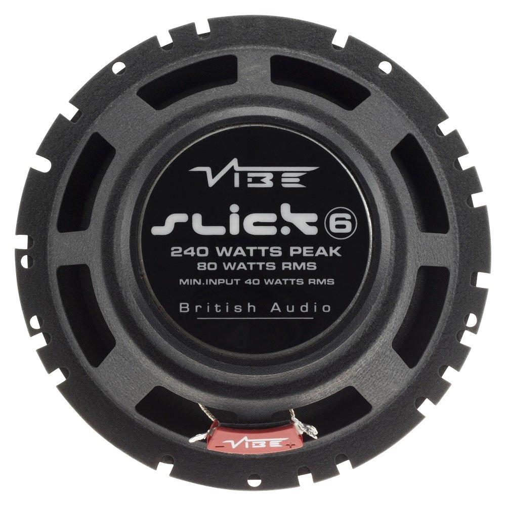"""Vibe Slick 6 V7 480 Watts a Pair 17 cm 6/"""" 2 Way Coaxial Car Door Speakers"""