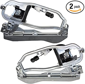 Outside Door Handle Carrier Front Left /& Right Side Fit 00-06 BMW X5 E53 Premium