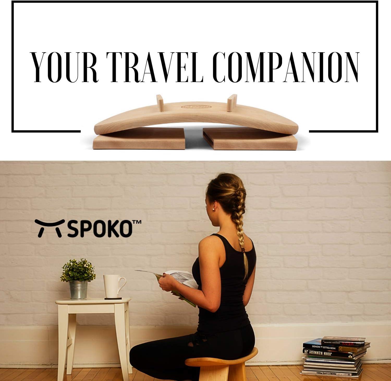 Amazon.com: SPOKO Banco de meditación, el original taburete ...