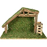Nativity Creche Stable Large 8 Inch High