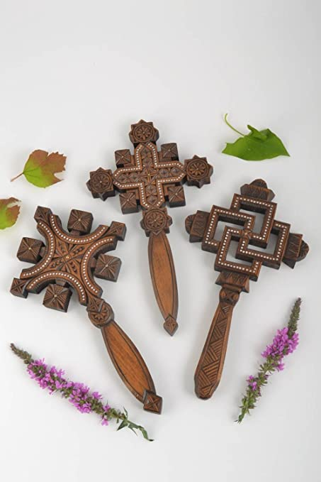 Amazon com: Wall Crosses Handmade Wooden Crosses Religious