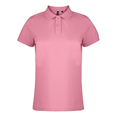 Asquith & Fox Womens Polo, Rosa (Pink Carnation 000), 42 (Talla ...