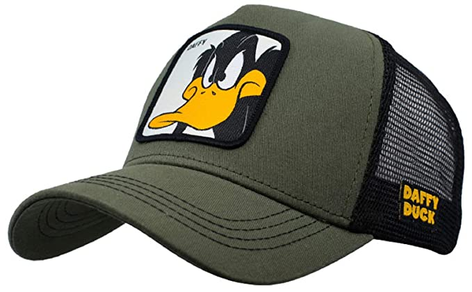 Collabs Gorra Lonely Tunes Daffy Verde Talla Unica: Amazon.es: Ropa y accesorios
