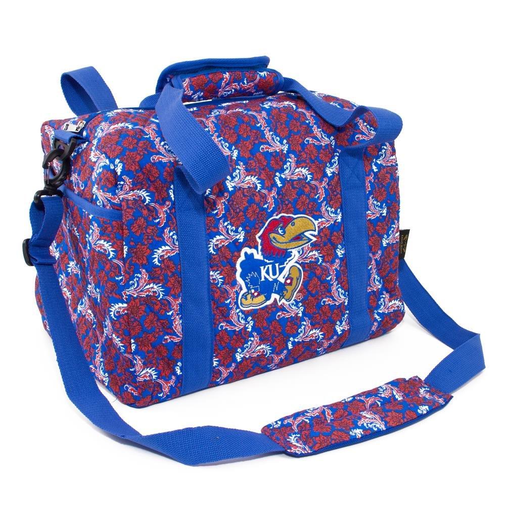 Eagles Wings NCAA Kansas Jayhawks Women's Mini Duffle Bag, One Size, Multicolor