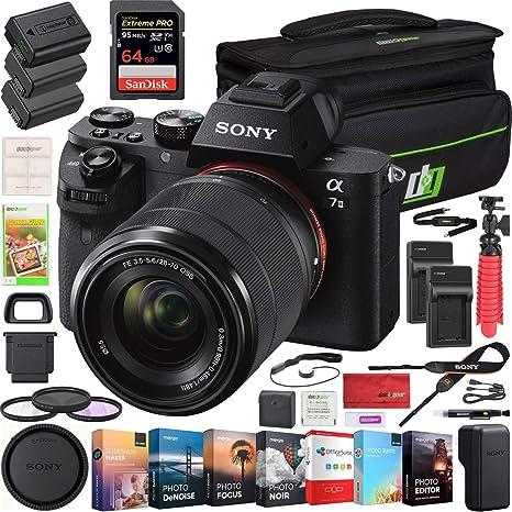 Sony A7 II Cámara Digital sin Espejo Alpha A7II ILCE-7M2/K con FE ...