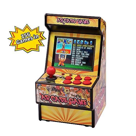 WFGZQ Consola De Videojuegos Portátil Retro, Mini Juego De ...