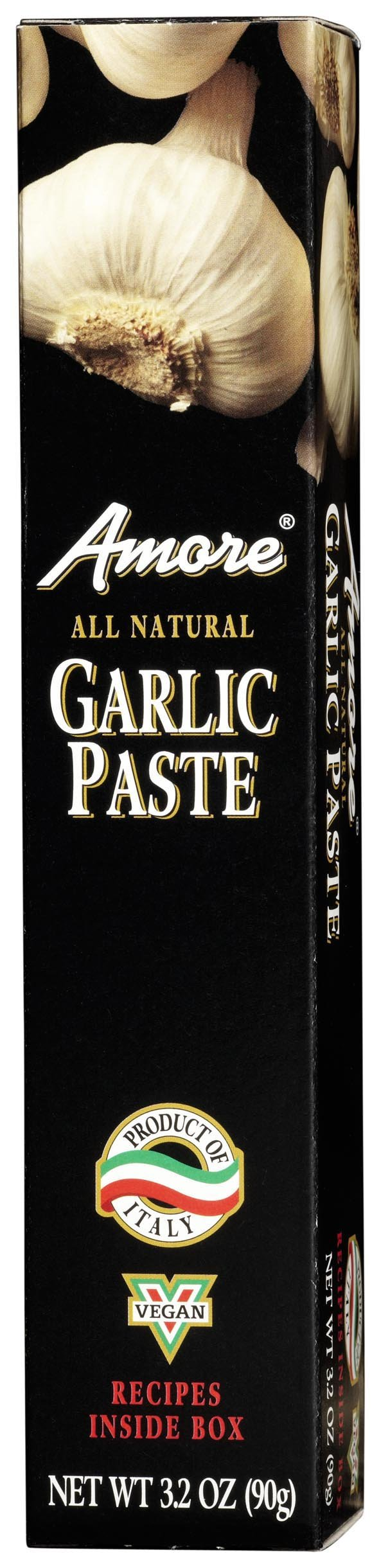 Amore Garlic Paste - Tube, 3.2 Ounce -- 12 per case.