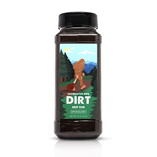 Dirt - Sasquatch BBQ Espresso Chile Beef Rub