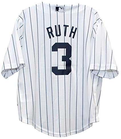 96b5974acfc Outerstuff Babe Ruth New York Yankees Home Cool Base Preschool Jersey  (small 4)