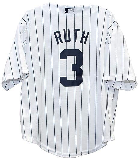 hot sale online 5cc4e 5d362 Outerstuff Babe Ruth New York Yankees Home Cool Base Preschool Jersey