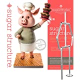 Innovative Sugarworks Sugar Structures Cake Decorating Armature Kit, Standing 2 Legged, for 3D Cakes, Sculpted Cakes…