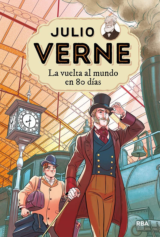 La vuelta al mundo en 80 días (INOLVIDABLES): Amazon.es: Verne ...