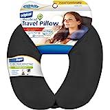 Cloudz Microbead Travel Neck Pillow - Black