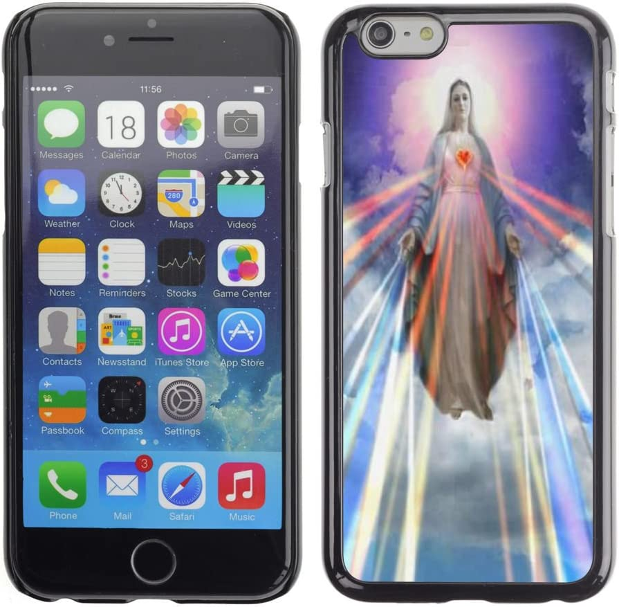 STPlus Virgin Mary Christian Christianity Hard Cover Case for Apple iPhone 6 Plus/iPhone 6S Plus
