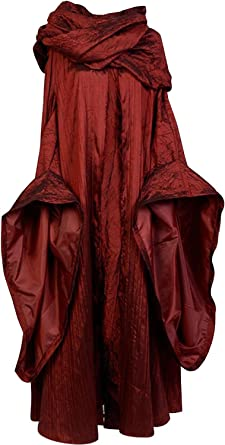 Sidnor Got de Juego de Tronos Rojo Mujer Melisandre Disfraz ...