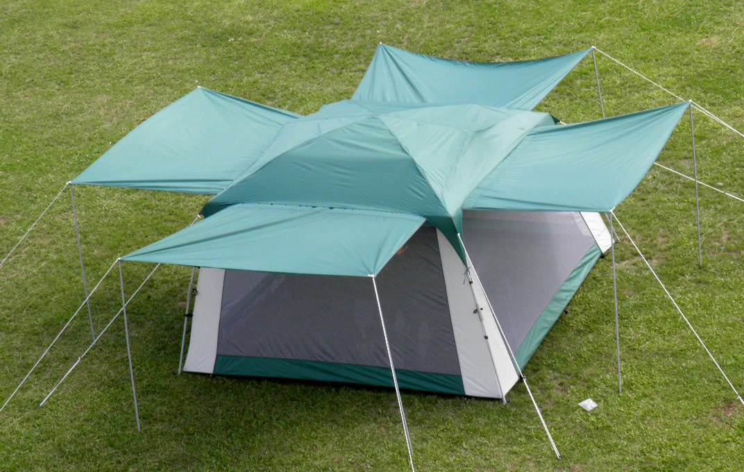 Screen Tent with Awnings and Side Walls - Pinnacle Tents Quick Set by Pinnacle Tents (Image #4)