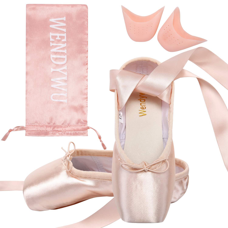 WENDYWU Damen Ballerinas Rosa Rosa 35 Rosa - Rosa - Größe  EU 37