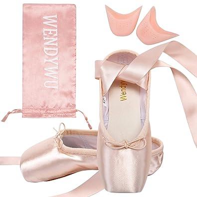 334c3d778b654 Les Femmes Filles Des Professionnels Tache Chaussures De Danse Black   Red    Rose Le Ballet