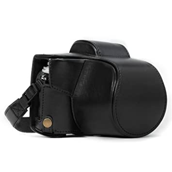 Consumer Electronics Andoer High Quality Leather Camera Bag Case With Shoulder Strap For Olympus Om-d Em10 E-m10 Camera Bag With 14-42mm Lens Only Bringing More Convenience To The People In Their Daily Life