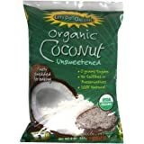 Let's Do Organic Coconut Shredded, Unsweetened, 8-Ounce (Pack of 6)