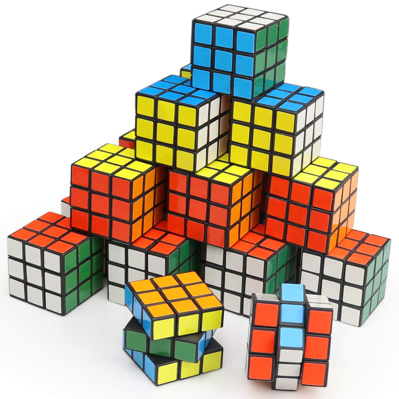 Amazon.com: Mini cubo, puzle, juguete de fiesta, material ...