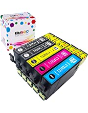 Kimgoo 220 220XL Compatible Ink Cartridges for Epson 220 220XL Use for Epson WorkForce WF-2760 WF-2750 WF-2660 WF-2650 WF-2630 Expression Home XP-420 XP-424 XP-320 Printer - 2 Black 1 Cyan 1 Magenta 1 Yellow