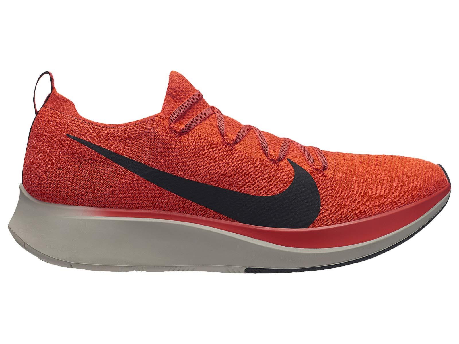 Nike Zoom Fly Flyknit Men's Running Shoe Bright Crimson/Black-Total Crimson Size 8