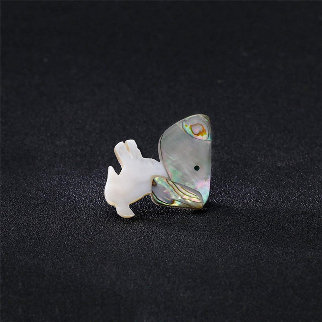 Elviray Einfachheit Vintage Gold Farbe Crystal Strass Blume Antik Brosche Pins AH058-A