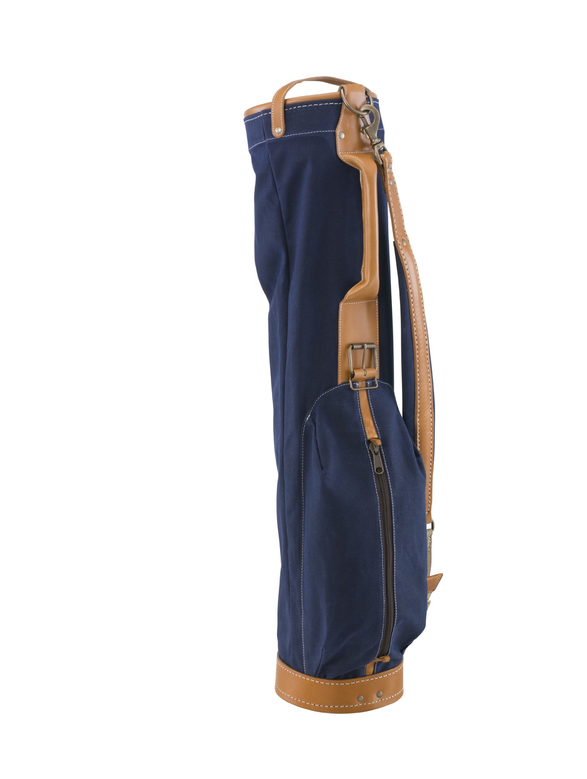 BELDING American Collection Vintage Golf Carry Bag, 7-Inch, Navy