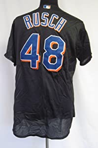 New York Mets Glendon Rusch #48 Game Issued Possible Game Used Jersey 5890 - Game Used MLB Jerseys