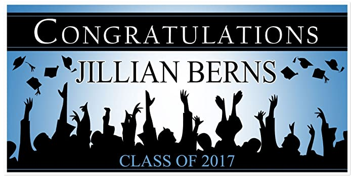 amazon com class of 2018 graduation banner personalized