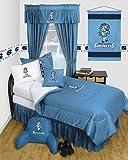 Sports Coverage North Carolina Tarheels UNC Dorm Bedding Comforter Set