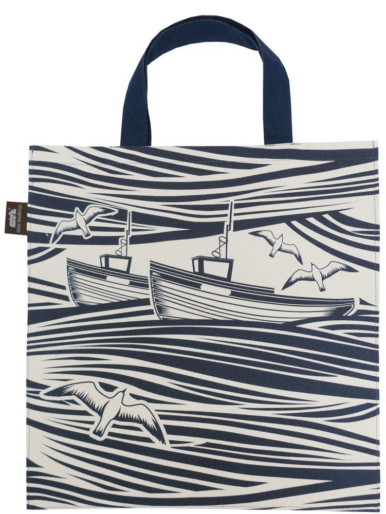 Mini Moderns Tote Bag Whitby, Indigo MMT-WB1