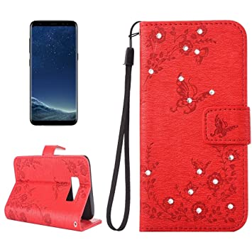 9314da59d5a Wkae For Samsung Galaxy S8 +   G955 Diamante Butteryfly  Amazon.co.uk   Electronics