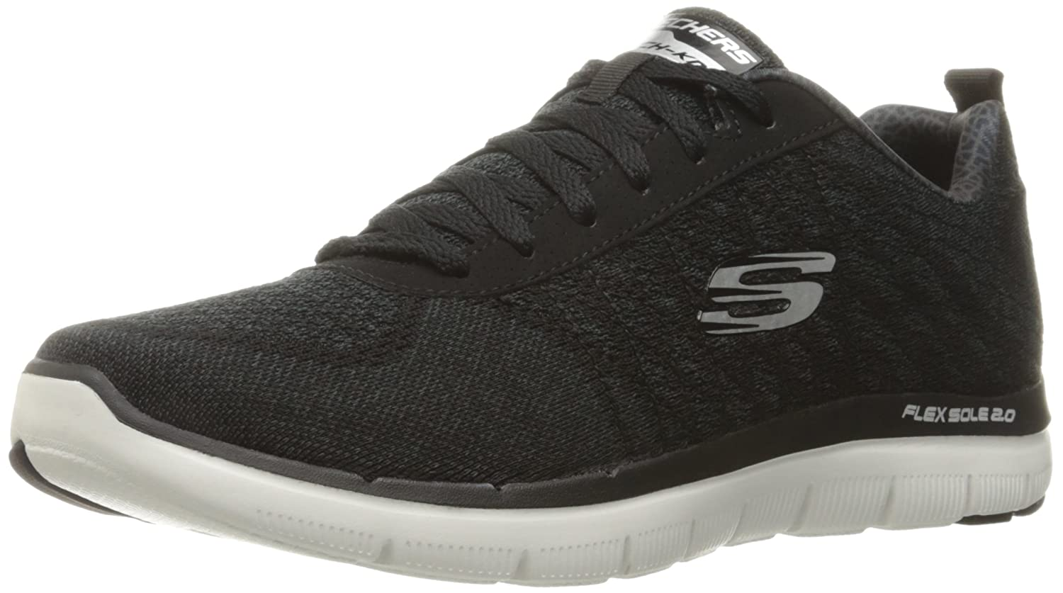 Skechers Flex Advantage 2.0 -Golden Point - Zapatillas Hombre 46 EU|Bkw